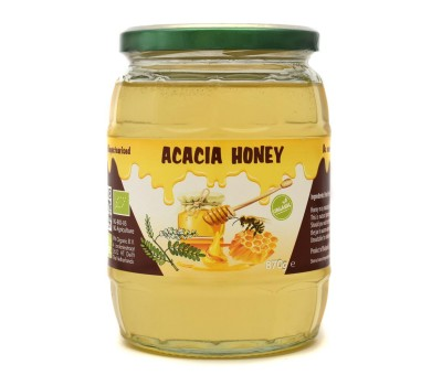 Organic Raw Acacia Honey (870g)