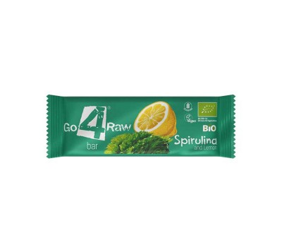 Organic Raw Bar -  Spirulina and Lemon