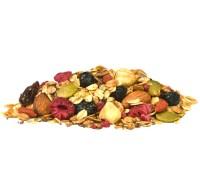 Huisgemaakte Granola met Bosvruchten en Vanille