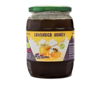 Organic Raw Lavender Honey (870g)