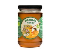 Organic Raw Herbal Honey (380g)